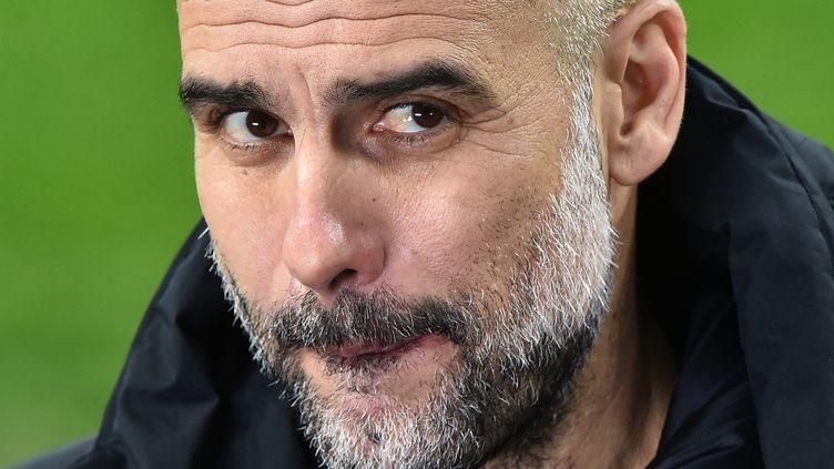 Le Manchester City de Pep Guardiola a particulièrement impressionné depuis le début de la campagne européenne. (ATTILA KISBENEDEK / AFP)