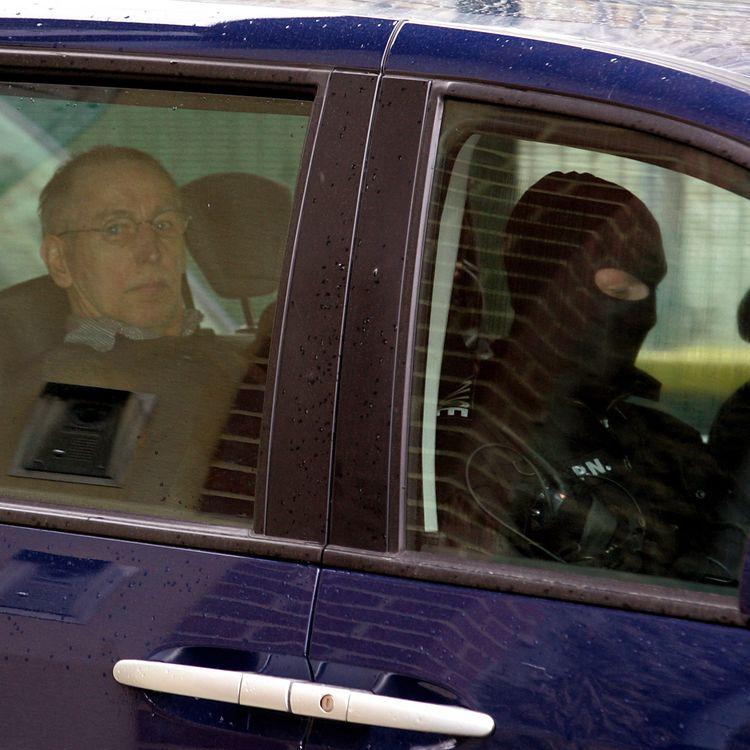 Michel Fourniret, le 29 mai 2008, à Charleville-Mézières (Ardennes). (ALAIN JULIEN / AFP)