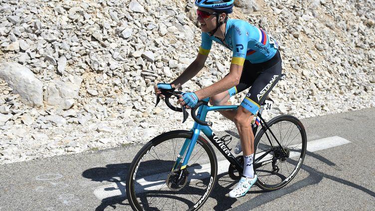 Vlasov sur les pentes du Mont Ventoux. (SYLVAIN THOMAS / AFP)