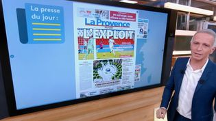 Covid, Elisa Pilarski, Olympique de Marseille... Tour d'horizon de l'actualité en régions  (France 2)