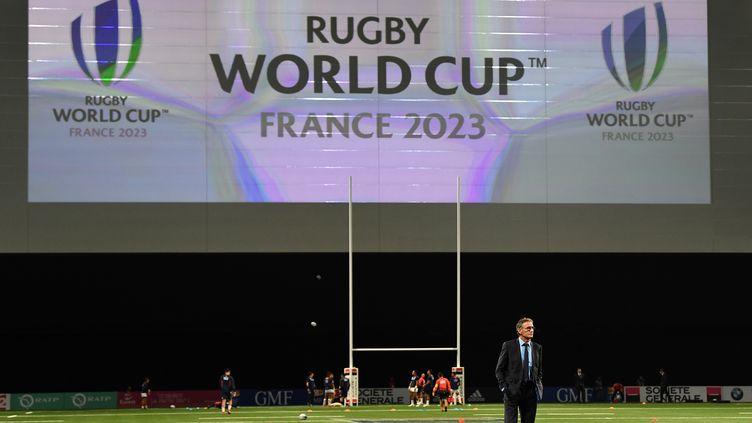 Guy Novès le 25 novembre 2017 à Paris. (FRANCK FIFE / AFP)