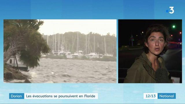 Dorian : les évacuations se poursuivent en Floride