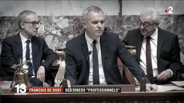 """Affaire de Rugy : l'enquête conclut à des dîners """"professionnels"""""""