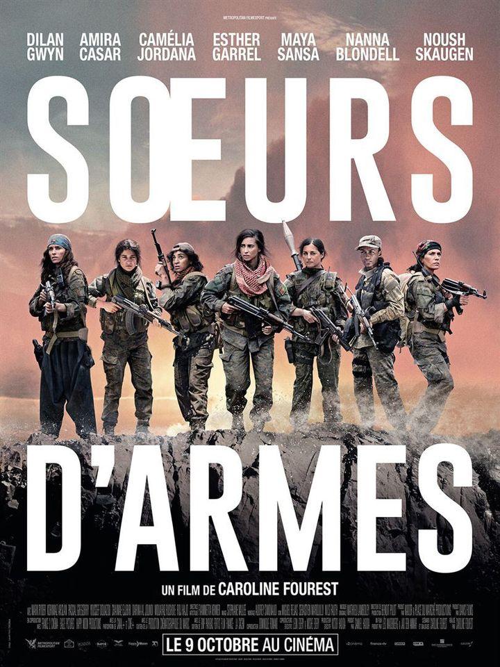 """L'affiche de """"Soeurs d'armes"""" deCaroline Fourest (METROPOLITAN FILMEXPORT)"""