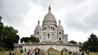 LeSacré-Cœur est le 2éme site le plus visité de Paris (24 juillet 2020, illustration). (REMY PERRIN / MAXPPP)