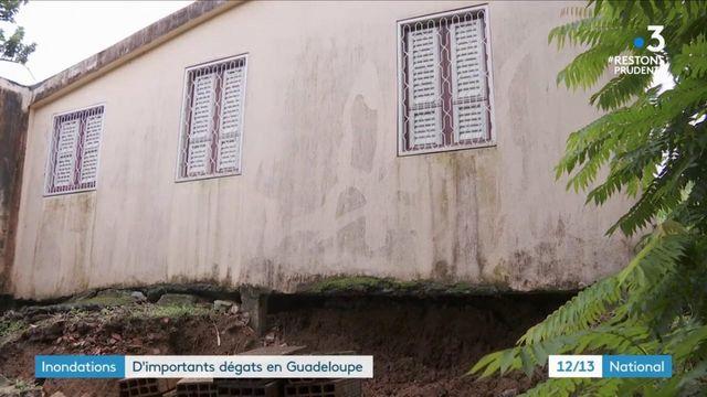 Antilles : d'importants dégâts après des inondations en Guadeloupe et en Martinique
