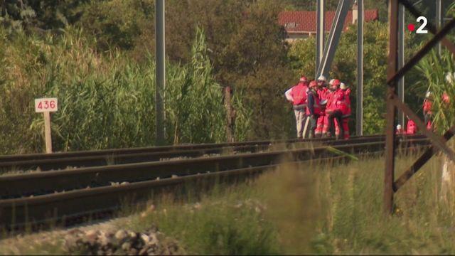SNCF : les voies endommagées par les intempéries