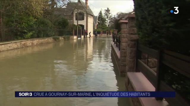Crue à Gournay-sur-Marne : l'inquiétude des habitants