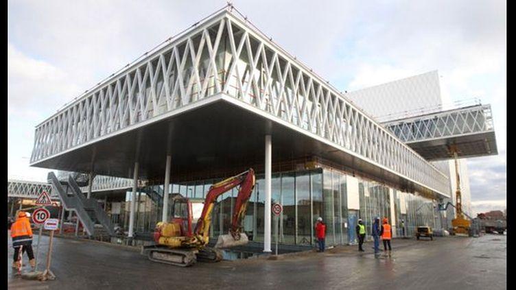 Le futur site des Archives nationales à Pierrefitte-sur-Seine (02/12/2011)  (AFP / Pierre Verdy)