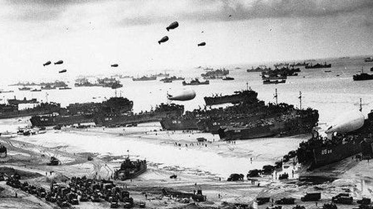Le 6 juin 1944, le Débarquement allié sur les plages normandes est une réussite, malgré une météo maussade (AFP PHOTO)