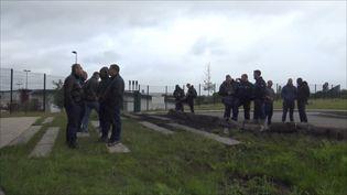 Au lendemain d'une nouvelle prise d'otage à Condé-sur-Sarthe, les surveillants se mobilisent et pointent du doigt le manque de moyens. (CAPTURE ECRAN VIDEO GILLES GALLINARO - RADIO FRANCE)