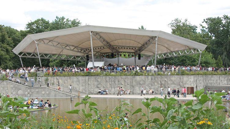 L'espace Delta, principale scène du Paris Jazz Festival  (Maëlle Henaff)