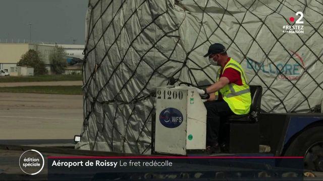 Trafic aérien : le fret reprend progressivement à Roissy