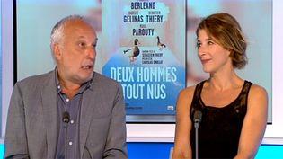 François Berléand et Isabelle Gélinas sur le plateau de France 3  (France 3)