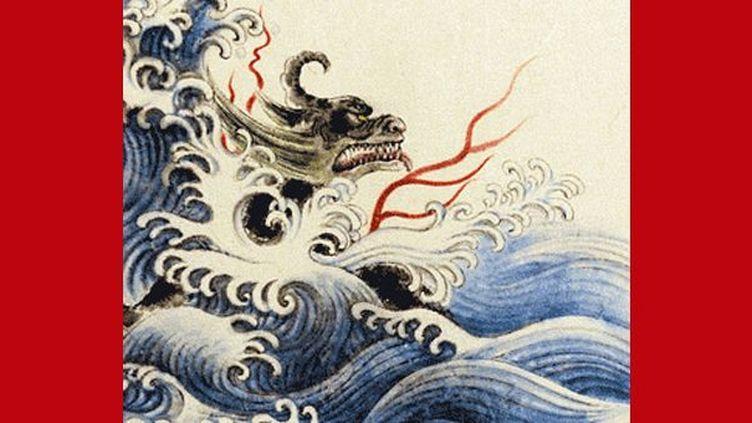 """""""Nian le terrible, la légende du Nouvel An"""", Guillaume Olive et He Zhihong  (He Zhihong / Editions Seuil Jeunesse)"""