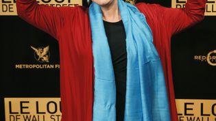 La chanteuse Maurane, le 9 décembre 2013 à Paris. (PATRICK KOVARIK / AFP)