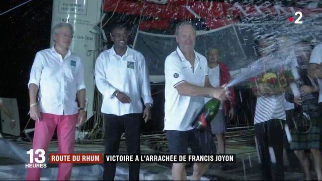 Route du Rhum : Francis Joyon remporte la course
