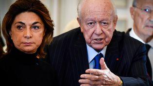 A Marseille, Martine Vassal, adoubée par Jean-Claude Gaudin et investie par Les Républicains, brigue la succession de l'ancien maire. (GERARD JULIEN / AFP)