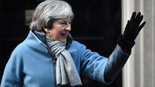 La Première ministre britannique Theresa May, le 14 mars 2019, à Londres. (BEN STANSALL / AFP)
