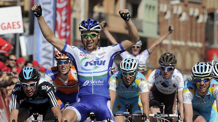 Gille Simon en action (LLUIS GENE / AFP)