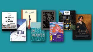 Les couvertures des huit albums en lice pour leFauve d'Angoulême - Prix du Public France Télévisions 2020 (FRANCEINFO)