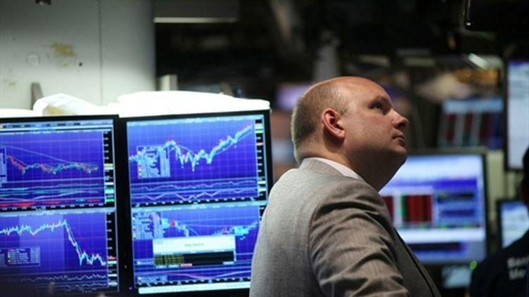 Des traders à New York, le 28 janvier 2011. (Spencer Platt/Getty Images/AFP)