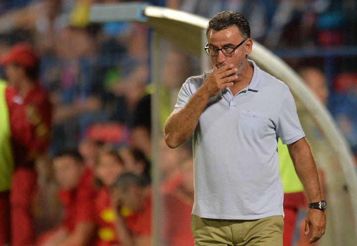 Christophe Galtier, l'entraîneur de l'AS Saint-Etienne.