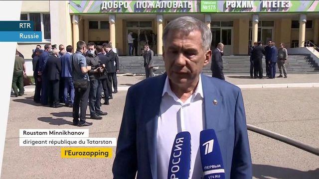 Eurozapping : vive émotion en Russie après une fusillade dans une école