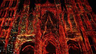 Cathédrale des lumière à Rouen  (Seine Maritime Tourisme )