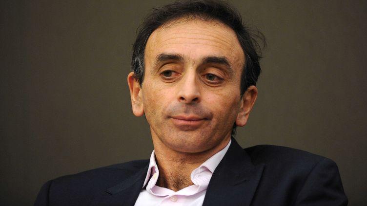 Le chroniqueur Eric Zemmour, lors d'une convention de l'UMP, le 2 mars 2011, à Paris. (CHAMUSSY / SIPA)