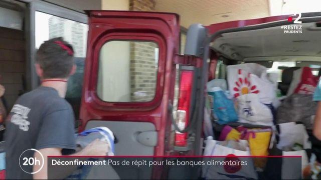 Déconfinement : pas de répit pour les banques alimentaires