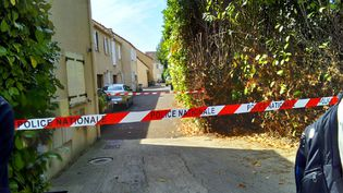 Le quartier de Trappes où a eu lieu l'attaque mortelle jeudi 23 août (Lucas Valdenaire / RADIO FRANCE)