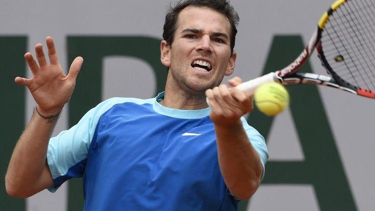 Le Français, Adrian Mannarino. (DOMINIQUE FAGET / AFP)