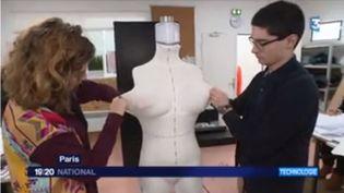 Robot mannequin (FRANCE 3)