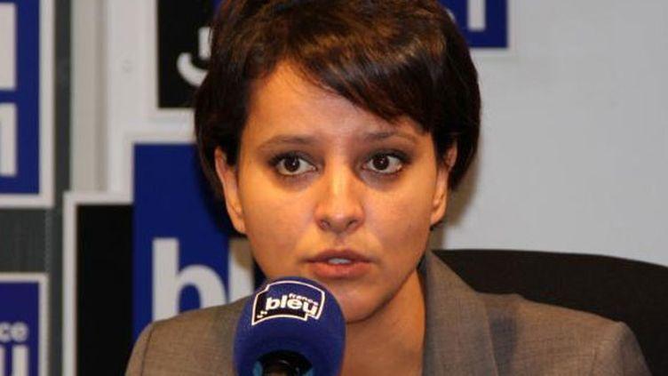 (Najat Vallaud-Belkacem a annoncé sur France Bleu Isère la révocation du directeur d'école de Villefontaine © France Bleu)