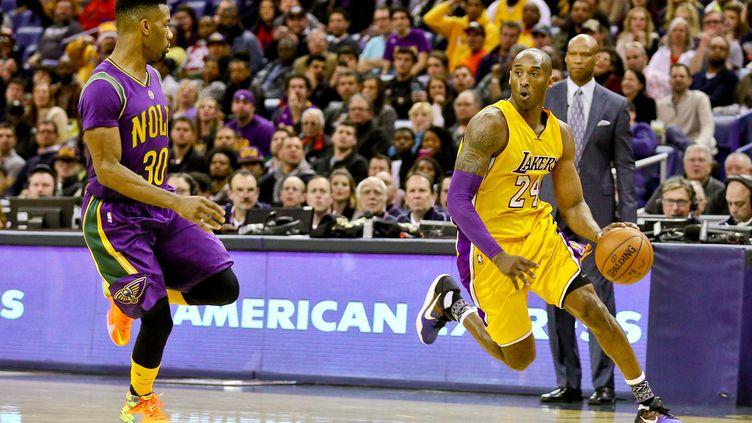 Kobe Bryant (Los Angeles Lakers) a inscrit 27 points sur le parquet de La Nouvelle-Orléans. (? USA TODAY SPORTS / REUTERS / X02835)
