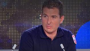 Éric Brocardi, porte-parole de la Fédération nationale des sapeurs-pompiers de France, le 4 juin 2021 sur franceinfo. (FRANCEINFO / RADIO FRANCE)