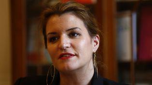 Marlène Schiappa félicite Benjamin Griveaux pour son investiture comme candidat LREM à la mairie de Paris (photo d'illustration, 6 mars 2019). (OLIVIER CORSAN / MAXPPP)