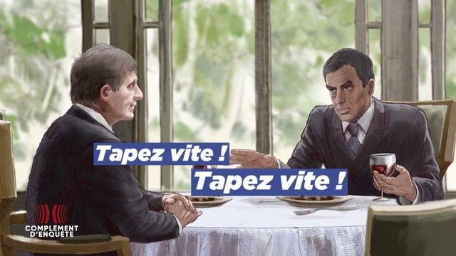 """Complément d'enquête. Bygmalion : le déjeuner où François Fillon aurait exhorté le secrétaire général de l'Elysée à """"taper vite"""" pour abattre Nicolas Sarkozy"""