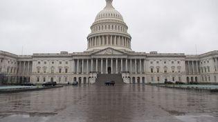 Après plusieurs jours de négociation, le Sénat américain et la Maison blanche ont trouvé un accord sur un plan de relance de l'économie américaine. (SAUL LOEB / AFP)
