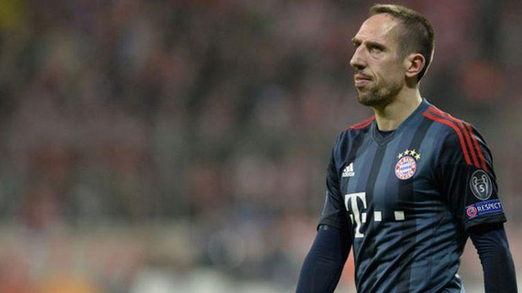 Le joueur du Bayern Munich Franck Ribéry