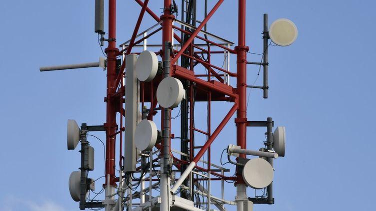Une antenne de télécommunication (photo d'illustration). (PASCAL PAVANI / AFP)