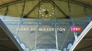 La gare de Massy TGV, le 23 juin 2010. (FRANCOIS RENAULT / PHOTONONSTOP / AFP)