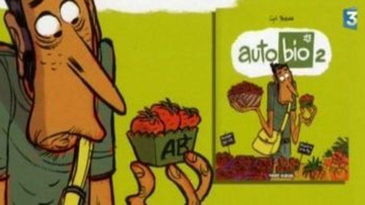 """Cyril Predrosa dessinateur de BD """"auto-bio""""  (Culturebox)"""