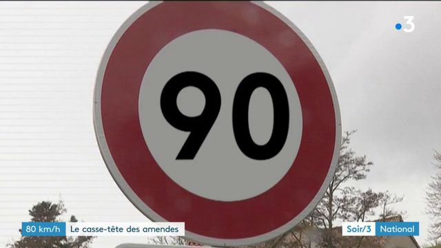 80 km/h : la question des contraventions