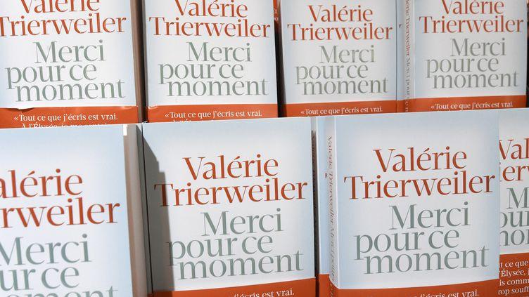 Le livre de Valérie Trierweiler, paru le 4 septembre 2014,a été tiré à 200 000 exemplaires. (PASCAL GUYOT / AFP)