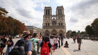 Notre-Dame-de-Paris est le monument le plus visité de la capitale. (OLIVIER BOITET / MAXPPP)