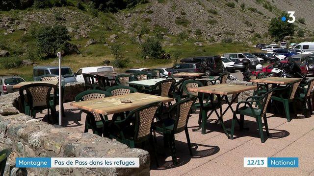 Montagne : le pass sanitaire n'est pas obligatoire dans les refuges