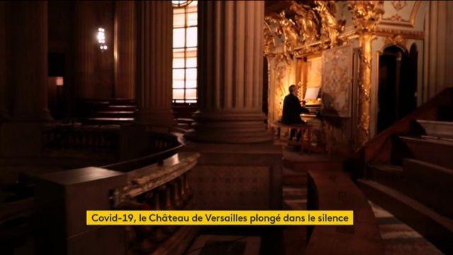Coronavirus : le château de Versailles reste silencieux