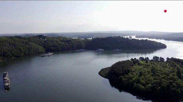 Finistère : le cimetière des bateaux-fantômes de Landévennec